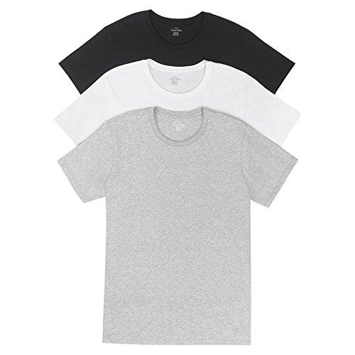 Calvin Klein Men's 3-Pack Cotton Classic Short Sleeve V-Neck