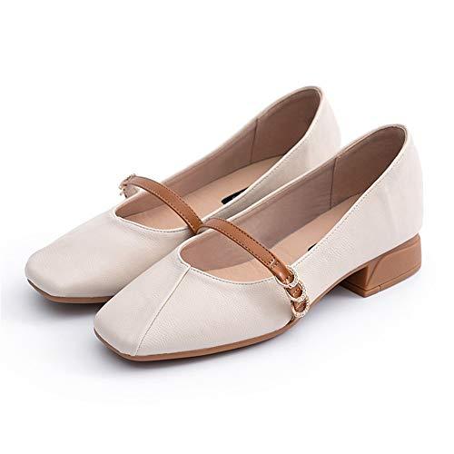 Primavera Arroz Para Boca Guisantes Hada Planos Mujer Ligero Mocasines Zapatos Poco Profunda Solos Salvajes AtxwX