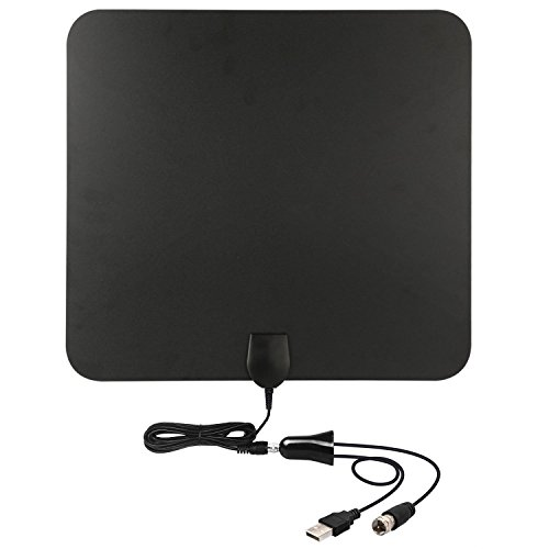 TV Antenna HD 50 Mile Range with Amplifier Signal Booster Upgraded Version Better Reception