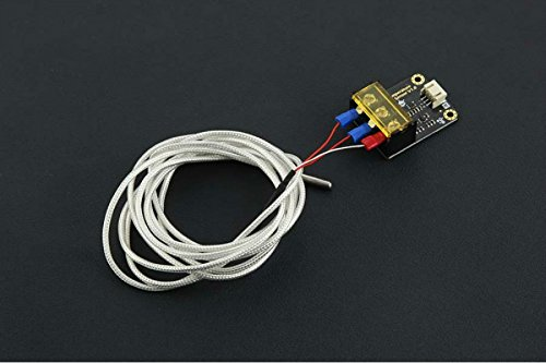 In ZIYUN,Gravity: Analog High Temperature Sensor,Using this probe you can measure a temperature range between 30-350C,STM32 and other microcontrollers are compatible