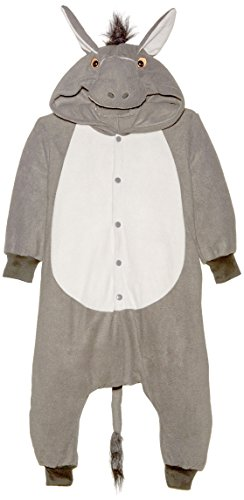 RG Costumes Girl 40328 Funsies' 100 Acre Donkey Costume, Gray, Small]()