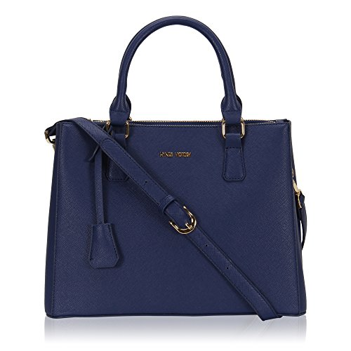 Blue Satchel Handbags - 2