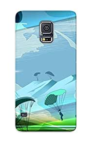Improviselike Shock-dirt Proof Paragliding Case Cover Design For Galaxy S5 - Best Lovers' Gifts