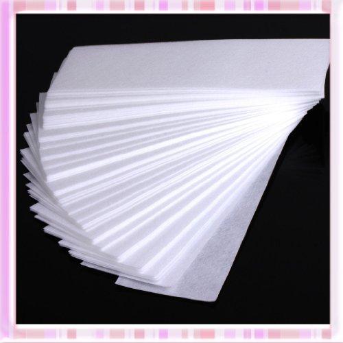Oui beauté 100pcs professionnel aisselle jambe papier ciré dépilatoire non-tissé épilateur épilation