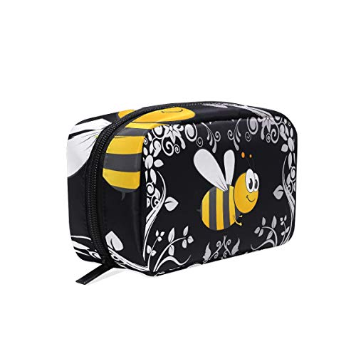 Makeup Cosmetic Bag Bumble Bee Pouch Clutch ()