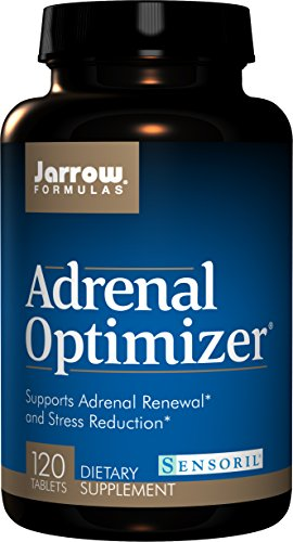Jarrow Formulas Adrenal Optimizer, Supports Adrenal Renewal and Stress Reduction, 120 Tabs by Jarrow (Image #3)
