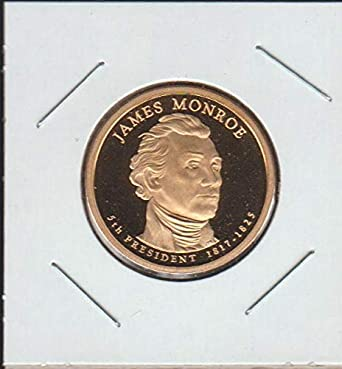 2008 D BU James Monroe Presidential Dollar From Mint Set Combined Shipping