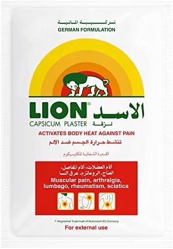 لاصق لتخفيف آلام الفلفل من ليون لتنشيط حرارة الجسم ضد الألم شريط واحد Amazon Ae