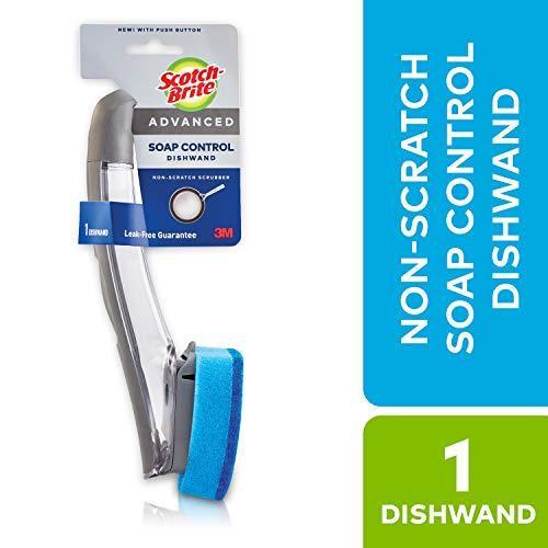 - Scotch-Brite Advanced Soap Control Dishwand, Non-Scratch