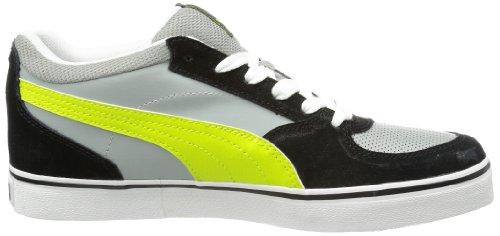 Puma Skate Vulc Herren Hausschuhe Grau (limestone gray-lime punch 11)