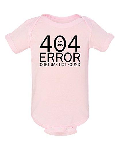 Tenacitee Baby Girl's 404 Costume Not Found Bodysuit, Newborn, Ballerina (Nerdy Girl Costume Ideas)
