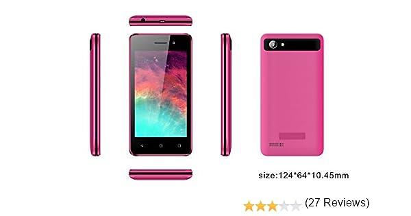 Smartphone INFINITON T4 (Rosa), Quad-Core 1.0GHz, Pantalla 4.0 ...
