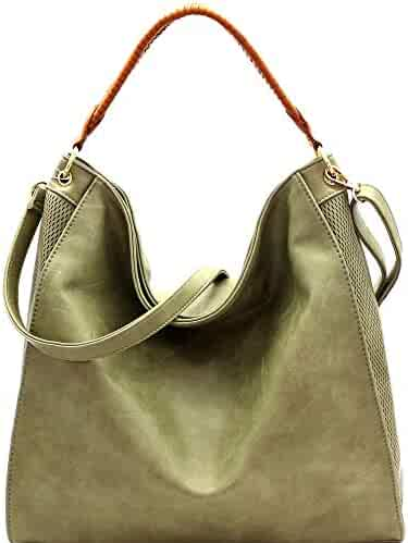 7b625beacef3 Shopping Faux Leather - Greens - Hobo Bags - Handbags & Wallets ...