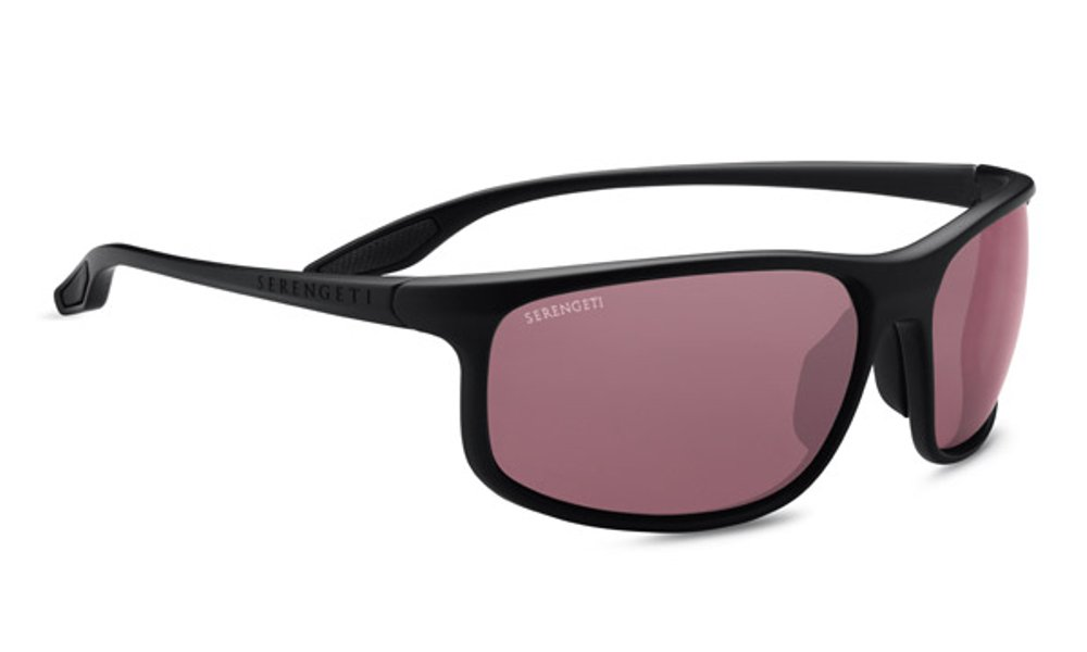Serengeti Ponza Sunglasses Satin Black, Lens