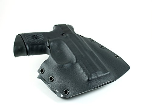 Ronin OWB Holster for FNH FNS Compact, Black, Right Hand