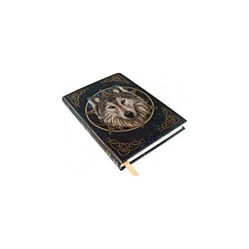 Artist Lisa Parker The Wild One Wolf & Celtic Knot Embossed Journal By Lisa ()