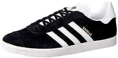 adidas Originals Gazelle Shoes 5 B(M) US Women / 4 D(M) US Core Black/White/Gold Met.