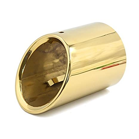 Amazon.com: eDealMax Tono Oro Redondo de Acero inoxidable ...