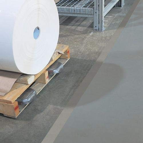 GHS Safety PST216XL, 2'' x 180' Gray Aisle Floor Tape, Pack of 20 Roll