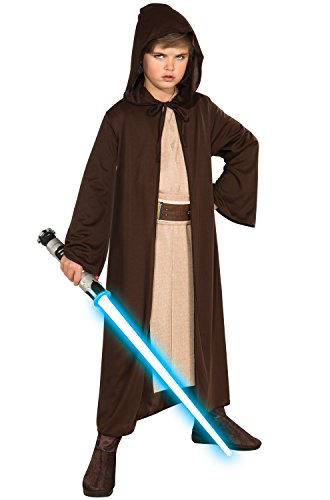 Rubies Star Wars Classic Child's Hooded Jedi Robe, Medium ()