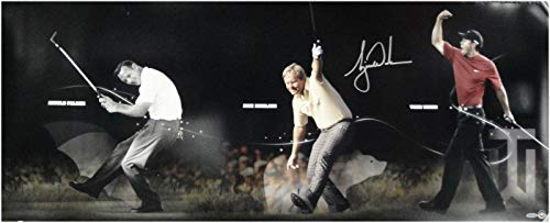 Tiger Woods Hand Signed Photo 18