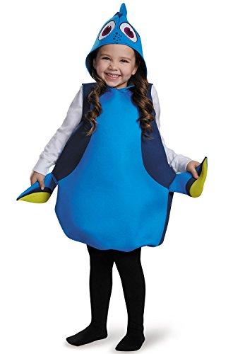 [Disney Finding Nemo Dory Classic Child Costume] (Dory And Nemo Costumes)
