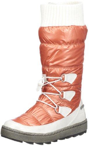 Tamaris active, WoMen Snow Boots Orange (Orange/Carrara 633)