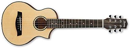 Ibanez EWP15LTD - Guitarra acústica (con 6 cuerdas metálicas ...