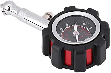 Manual 0-100PSI Medidor de presi/ón de aire de neum/áticos Medidor Probador para bicicleta de motocicleta de cami/ón de coche Medidor de presi/ón de neum/áticos