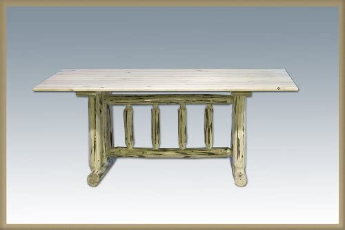 Montana Woodworks Collection Trestle Based Dining Table