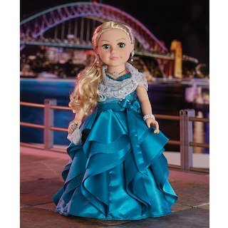 Journey Girls Special Edition 18-inch Fashion Doll - Blonde with Green Eyes (Journey Green)