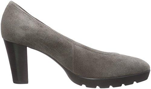 Högl 0- 10 6202 6800 - zapatos de tacón cerrados de cuero mujer gris - Grau (6800)