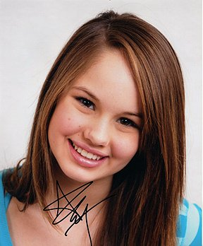 Debby Ryan Suite Life On Deck 8x10 Celebrity Photo Signed In Person