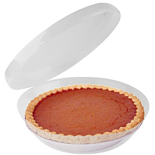 9 plastic pie containers - 6