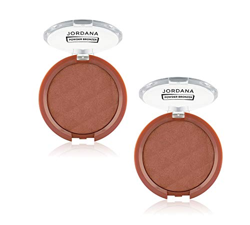 Jordana Powder Bronzer (Beach Bronze, 2 Pack)