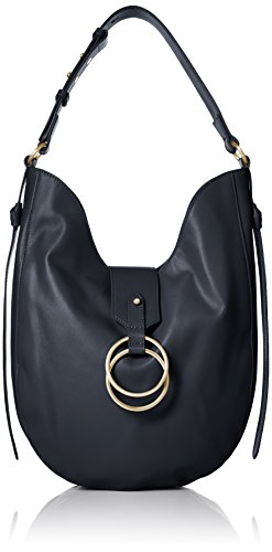Badgley Mischka Hobo Badgley Campaign Navy Mischka aZxpaT6n