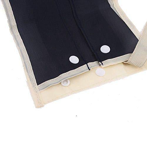 TOOGOO 1 Pieza Caja Cubierta Organizador Almacenamiento del Paraguas A Prueba de Agua Espalda de Asiento de Auto Coche Plegable Universal Bolso Bolsa Largo Accesorios de Coche