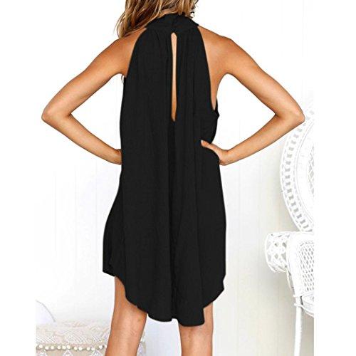 673682fe60 Ba Zha Hei Vestido suelto de playa sin mangas para mujer de Vestido para  Mujer Vestidos para elegante mujer fashion 2018 ...