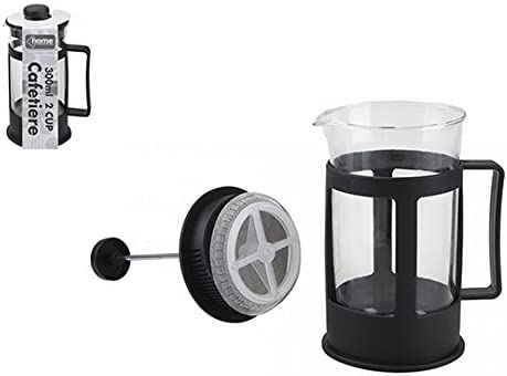 Jarra de filtro de cafetera de 300 ml con 2 tazas para cocina, té, café: Amazon.es: Hogar