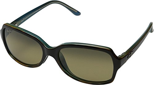 Maui Jim Cloud Break Polarized Sunglasses - Women's Tortoise with Peacock Blue / HCL Bronze One - Jimsunglasses Maui