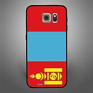 Samsung Galaxy S6 Edge Mongolia Flag