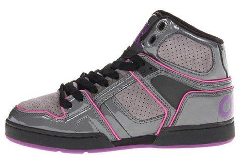 Osiris Womens Nyc 83 Slm Skate Schoen Houtskool / Grijs / Paars