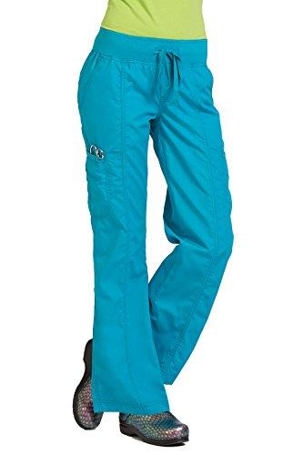 Peaches Uniforms Women's Comfort Scrub Pant (Ocean, SM Petite) (Peaches Comfort Scrub Pant compare prices)