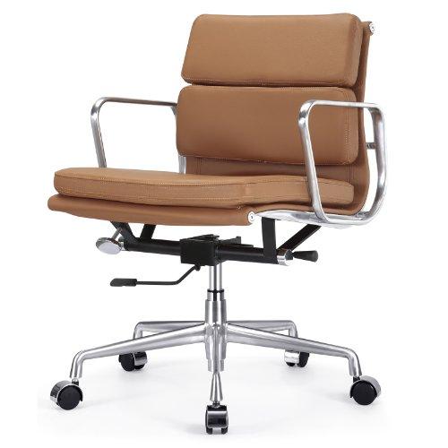 Meelano Office Chair in Brown Italian