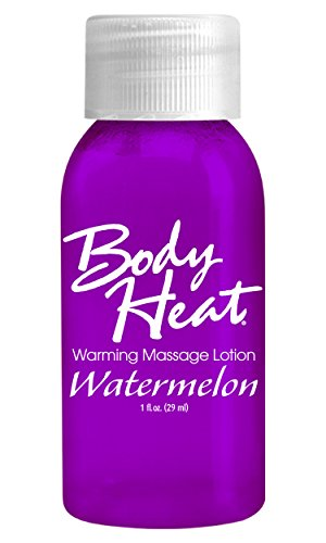 BODY HEAT WARMING MASSAGE LOTION 1OZ WATERMELON a pipedream product by Pipedream