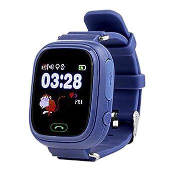 Kid Smartwatch con GPS + WiFi y Llamadas Wonlex GW100 Azul Oscuro. Original Reloj Inteligente con GPS para niños