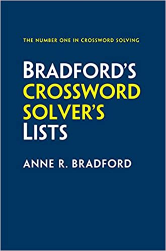 Collins Bradfords Crossword Solvers Lists Amazoncouk Anne R Bradford 9780008136451 Books
