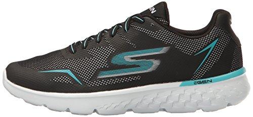 Femme black 400 Running Noir De Chaussures Skechers aqua Run Go nH8Yxqwn16