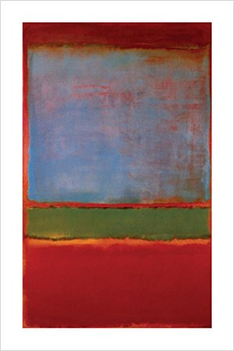 Buyartforless Violet Green and Red, 1951 no 6 by Mark Rothko 36x24 Art Print Poster Famous Painting Abstract Expressionist