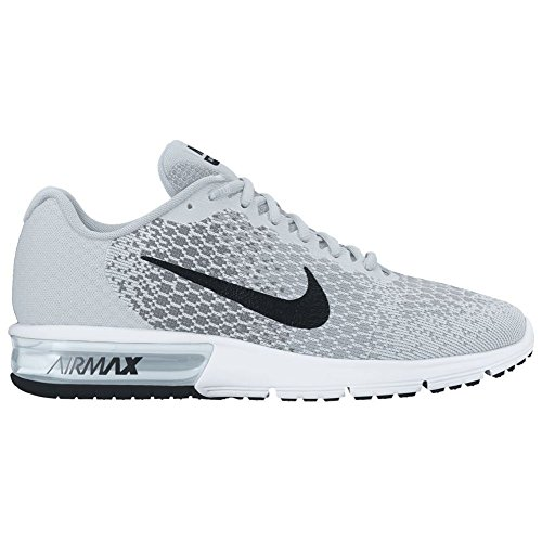 36d320c4d5 Galleon - NIKE Women's Air Max Sequent 2 Running Shoe Pure Platinum/Black/Cool  Grey/Wolf Grey Size 11 M US